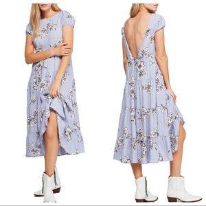 Free People Rita Tiered Midi Dress